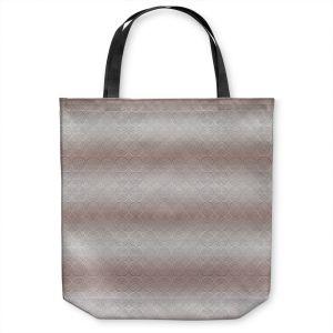 Unique Shoulder Bag Tote Bags | Susie Kunzelman - North East 1 Tan | Stripe pattern