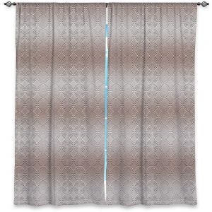 Decorative Window Treatments | Susie Kunzelman - North East 1 Tan | Stripe pattern