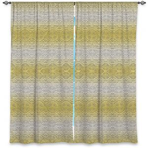 Decorative Window Treatments   Susie Kunzelman - North East 2 Spicy Mustard   Stripe pattern