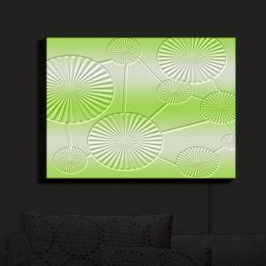 Nightlight Sconce Canvas Light | Susie Kunzelman - North East 3 Soft Lime