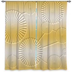 Decorative Window Treatments | Susie Kunzelman - North East 3 Spicy Mustard | Stripe pattern