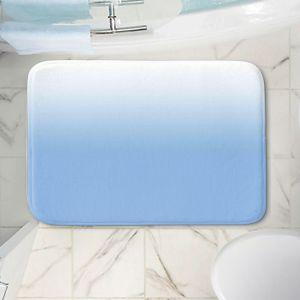 Decorative Bathroom Mats   Susie Kunzelman - Ombre Airy Blue   Ombre Monochromatic