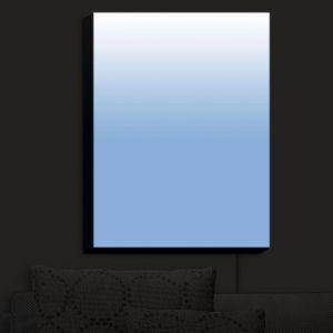 Nightlight Sconce Canvas Light | Susie Kunzelman - Ombre Airy Blue