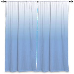 Decorative Window Treatments | Susie Kunzelman - Ombre Airy Blue | Ombre Monochromatic