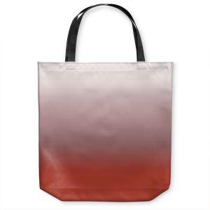 Unique Shoulder Bag Tote Bags |Susie Kunzelman - Ombre Aurora Red