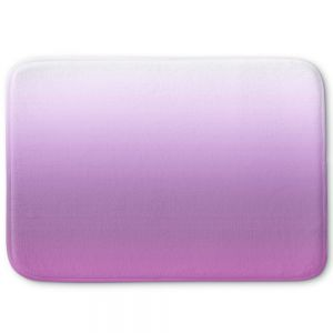 Decorative Bathroom Mats | Susie Kunzelman - Ombre Bodacious | Ombre Monochromatic