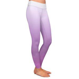Casual Comfortable Leggings | Susie Kunzelman - Ombre Bodacious | Ombre Monochromatic