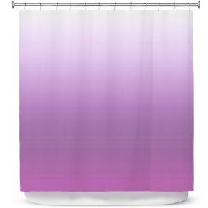 Premium Shower Curtains | Susie Kunzelman - Ombre Bodacious | Ombre Monochromatic