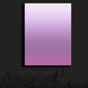 Nightlight Sconce Canvas Light | Susie Kunzelman - Ombre Bodacious