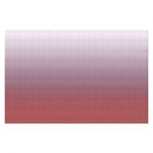 Decorative Floor Coverings | Susie Kunzelman - Ombre Dusty Cedar