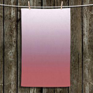 Unique Hanging Tea Towels | Susie Kunzelman - Ombre Dusty Cedar | Ombre