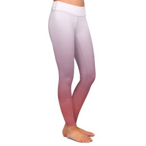 Casual Comfortable Leggings | Susie Kunzelman - Ombre Dusty Cedar