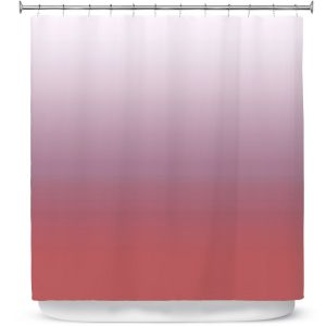 Premium Shower Curtains | Susie Kunzelman - Ombre Dusty Cedar
