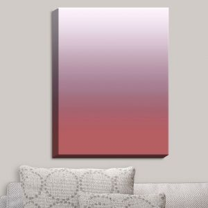 Decorative Canvas Wall Art | Susie Kunzelman - Ombre Dusty Cedar | Ombre