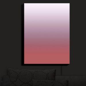 Nightlight Sconce Canvas Light | Susie Kunzelman - Ombre Dusty Cedar | Ombre