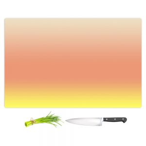 Artistic Kitchen Bar Cutting Boards | Susie Kunzelman - Ombre Enjoyable Yellow