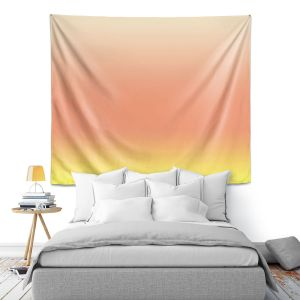 Artistic Wall Tapestry | Susie Kunzelman - Ombre Enjoyable Yellow