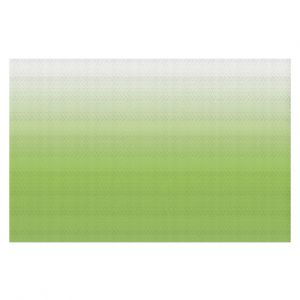 Decorative Floor Coverings | Susie Kunzelman - Ombre Light Avocado | Ombre Monochromatic