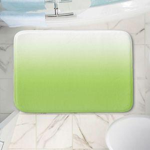 Decorative Bathroom Mats   Susie Kunzelman - Ombre Light Avocado   Ombre Monochromatic