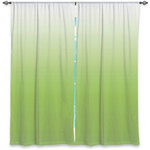 Decorative Window Treatments | Susie Kunzelman - Ombre Light Avocado | Ombre Monochromatic