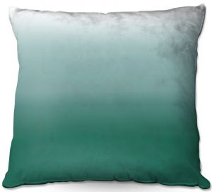 Decorative Outdoor Patio Pillow Cushion | Susie Kunzelman - Ombre Lush Meadow