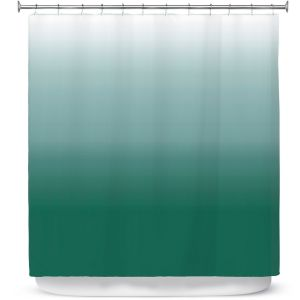 Premium Shower Curtains | Susie Kunzelman - Ombre Lush Meadow