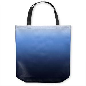 Unique Shoulder Bag Tote Bags | Susie Kunzelman - Ombre Midnight | Ombre Monochromatic