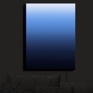 Nightlight Sconce Canvas Light | Susie Kunzelman - Ombre Midnight