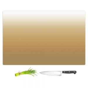 Artistic Kitchen Bar Cutting Boards | Susie Kunzelman - Ombre Neutral Beige