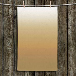 Unique Hanging Tea Towels | Susie Kunzelman - Ombre Neutral Beige | Ombre