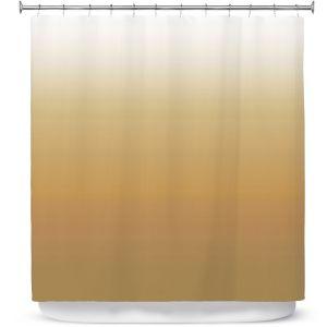 Premium Shower Curtains   Susie Kunzelman - Ombre Neutral Beige