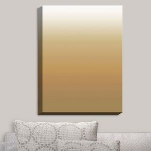 Decorative Canvas Wall Art | Susie Kunzelman - Ombre Neutral Beige | Ombre