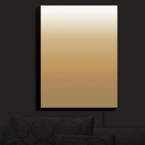 Nightlight Sconce Canvas Light | Susie Kunzelman - Ombre Neutral Beige | Ombre
