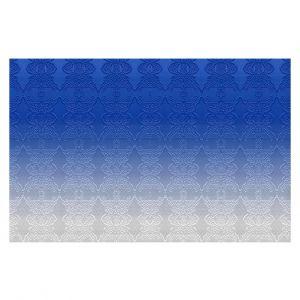 Decorative Floor Coverings | Susie Kunzelman - Ombre Pattern l Blue
