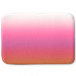Decorative Bathroom Mats | Susie Kunzelman - Ombre Peachy Pink | Ombre Monochromatic