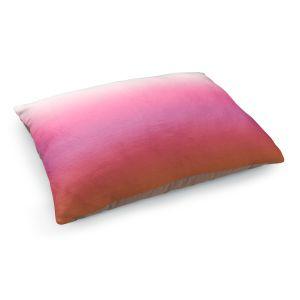 Decorative Dog Pet Beds | Susie Kunzelman - Ombre Peachy Pink | Ombre Monochromatic