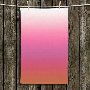 Unique Bathroom Towels | Susie Kunzelman - Ombre Peachy Pink | Ombre Monochromatic