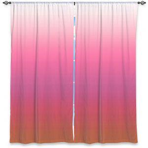 Decorative Window Treatments | Susie Kunzelman - Ombre Peachy Pink | Ombre Monochromatic