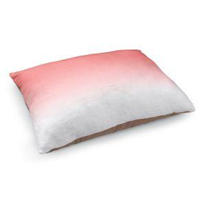 Decorative Dog Pet Beds | Susie Kunzelman - Ombre Pink Peach White