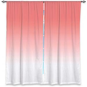 Decorative Window Treatments | Susie Kunzelman - Ombre Pink Peach White