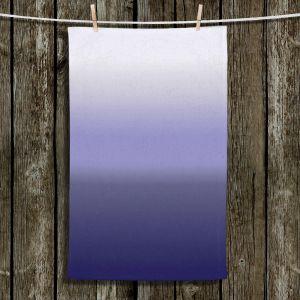 Unique Hanging Tea Towels | Susie Kunzelman - Ombre Plum | Ombre Monochromatic