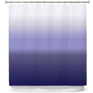 Premium Shower Curtains | Susie Kunzelman - Ombre Plum | Ombre Monochromatic