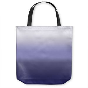 Unique Shoulder Bag Tote Bags | Susie Kunzelman - Ombre Plum | Ombre Monochromatic