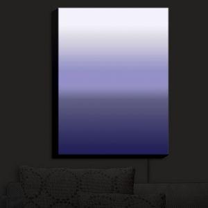 Nightlight Sconce Canvas Light | Susie Kunzelman - Ombre Plum