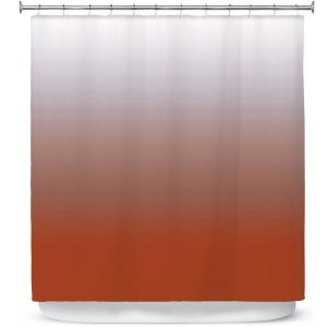 Premium Shower Curtains | Susie Kunzelman - Ombre Potters Clay