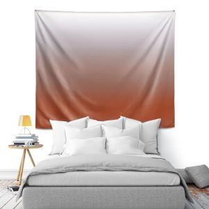 Artistic Wall Tapestry | Susie Kunzelman - Ombre Potters Clay