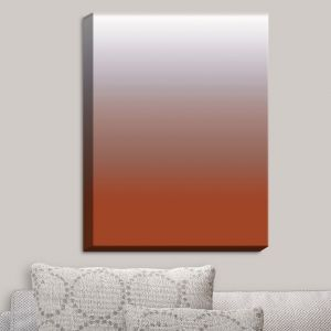 Decorative Canvas Wall Art | Susie Kunzelman - Ombre Potters Clay | Ombre