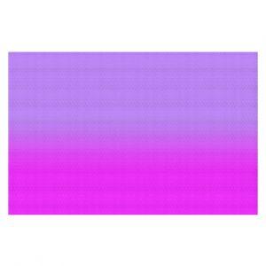 Decorative Floor Coverings | Susie Kunzelman - Ombre Purple