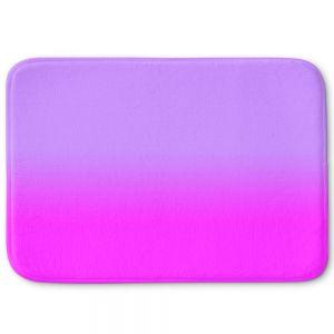 Decorative Bathroom Mats | Susie Kunzelman - Ombre Purple
