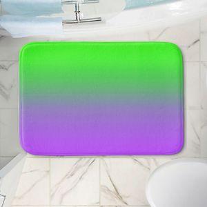 Decorative Bathroom Mats   Susie Kunzelman - Ombre Purple Green